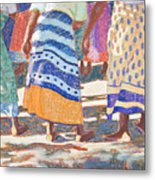 African Colors Metal Print by Tracy L Teeter