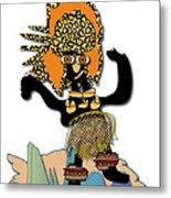 African Dancer 6 Metal Print