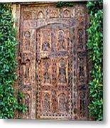African Door Parker Palm Springs Metal Print