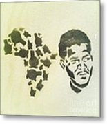 African Icon Metal Print