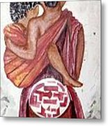 African Mother N Child Metal Print
