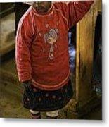 African Toddler Metal Print