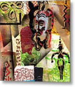 Afro Aesthetic A  Metal Print