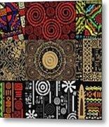 Afroecletic II Metal Print