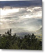 After A Pyrenean Storm Metal Print by Michael David Murphy