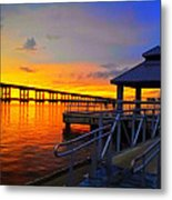 After Glow Glory Metal Print