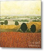 After Harvest Metal Print