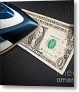 After Money Laundry Metal Print