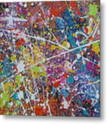After Party Metal Print