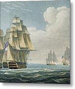 After The Battle Of Trafalgar Metal Print
