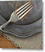 After The Cake Metal Print