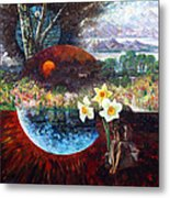 After The Death Of Christ Metal Print