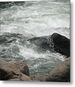 After The Falls Metal Print