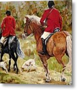 After The Hunt Metal Print