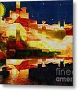 After The Icebergs Melt Metal Print