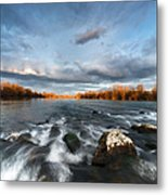 After The Rain - Square Metal Print