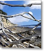 After The Storm Gaviota Metal Print