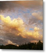 After The Storm -  Lake Arrowhead Metal Print