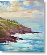 After The Storm Maui Metal Print