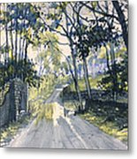 After The Storm On Woldgate Metal Print