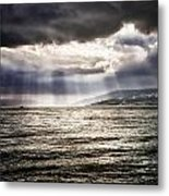 After The Storm Sea Of Galilee Israel Metal Print