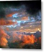 After Tornado Skyscape Metal Print