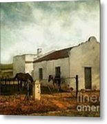 Afternoon At Lone Tree Ranch Metal Print