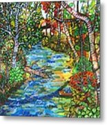 Afternoon At The Creek Metal Print