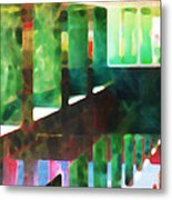 Afternoon At The Office Metal Print