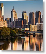Afternoon In Philly Metal Print