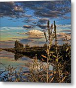 Late Afternoon In The Mead Wildlife Area Metal Print