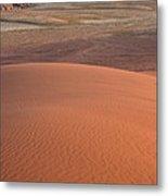 Afternoon Light On The Dune In Wadi Rum Metal Print