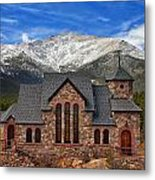 Afternoon Mass Metal Print