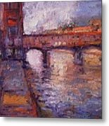 Afternoon On The Arno Metal Print