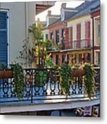 Afternoon On The Balcony Metal Print