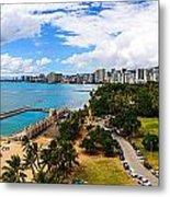Afternoon On Waikiki Metal Print