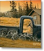 Afternoon Rest Metal Print