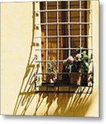 Afternoon Shadow In Montepulciano Metal Print