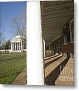 Afternoon Shadows Spread Across The Dorms Rooms Along The Lawn Metal Print