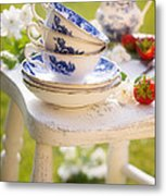 Afternoon Tea Metal Print