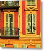 Afternoon Windows Metal Print