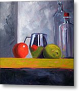 Against Giants Metal Print by Nancy Merkle