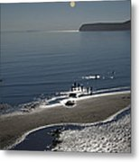 Against The Light - Compton Bay Metal Print