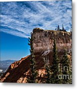 Against The Wind Metal Print