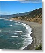 Agate Beach At Patricks Point Metal Print by Adam Jewell