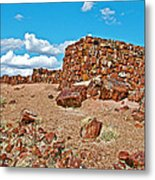 Agate House In Petrified Forest National Park-arizona  Metal Print