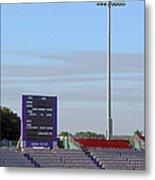 Ageas Bowl Score Board And Floodlights Southampton Metal Print