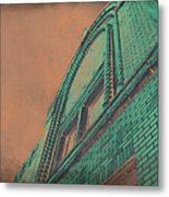 Aged Copper Theater Metal Print