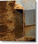 Aging With Rust Metal Print