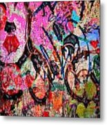 Agression And All  Metal Print